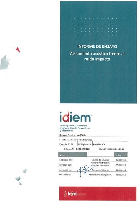 Idiem 1.041.678-2015_56 dB_TN18+IJ24a60+LV50+YCRF12_Ensayo acustico impacto