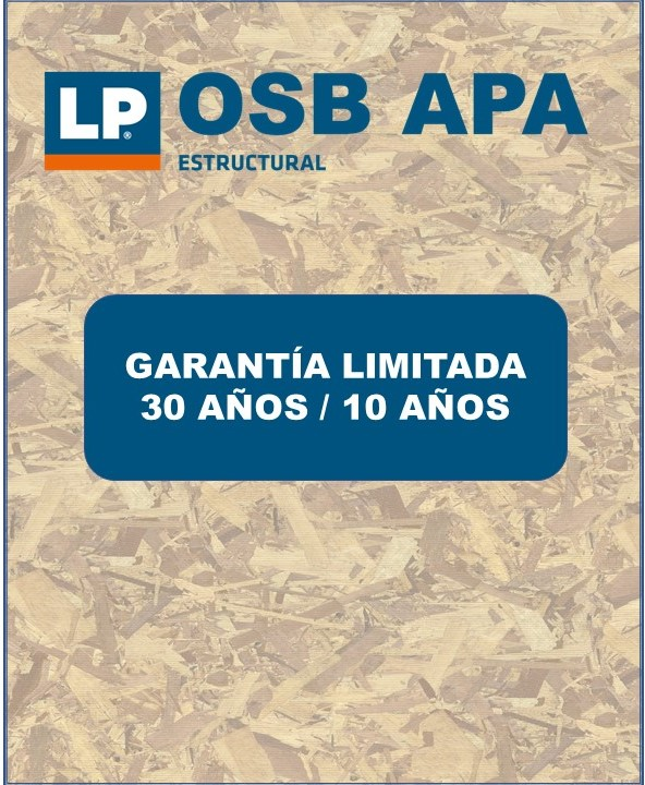 Garantía LP OSB APA