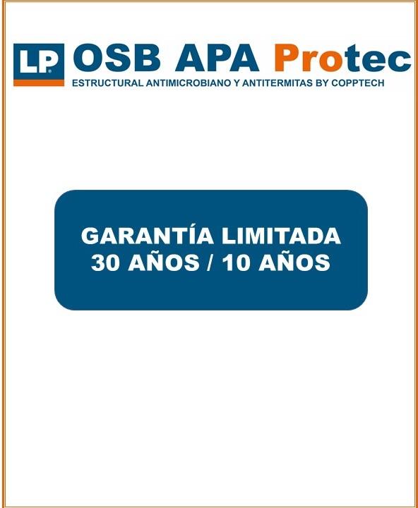Garantía LP OSB APA Protec